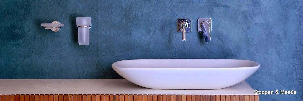 Waterdichte stuc badkamer