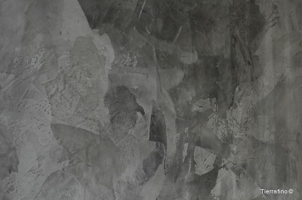 Tierrafino Glansleem Listro / Lustro, kleur Gomera Grijs