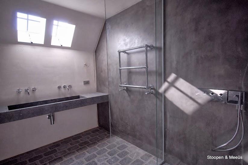 Badkamer Stuc Voorbeelden : Stoopen en meeus : stuc deco en stuc granito waterdicht stucwerk